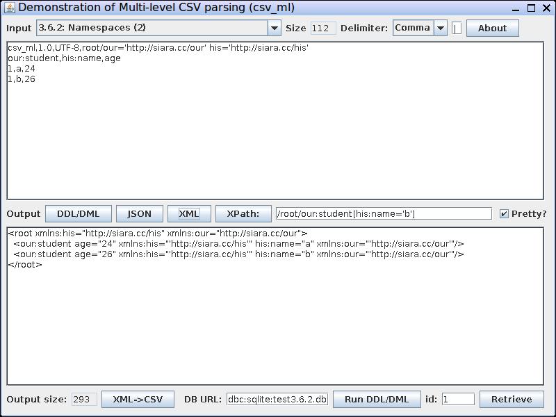 CSV To XML